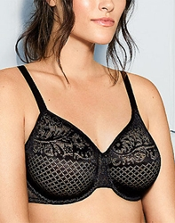 Wacoal Visual Effects Minimizer Bra in Black